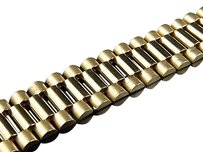 Jewelry Unlimited Mens,10k,Yellow,Gold,Solid,Link,Designer,8,Inch,Bracelet,16,Mm