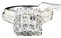 Jewelry Unlimited 14k,Ladies,White,Gold,Princess,Cut,Diamond,Bridal,Engagement,Ring,Set,1.75,Ct