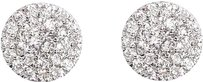 Jewelry Unlimited 14k,Yellow,Gold,Mens,Ladies,Round,Diamond,Cluster,6mm,Studs,Earrings,0.33ct
