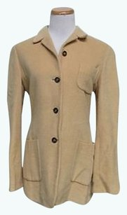 Jil Sander Long Sleeve Tan Jacket