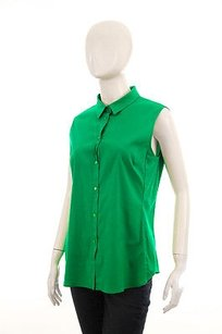 Jil Sander Cotton Top Green