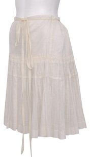 Jil Sander Off White Skirt Ivory