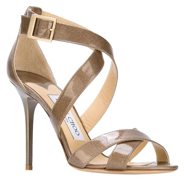 Jimmy Choo Beige Lottie Pumps Size US 8 Regular (M, B)