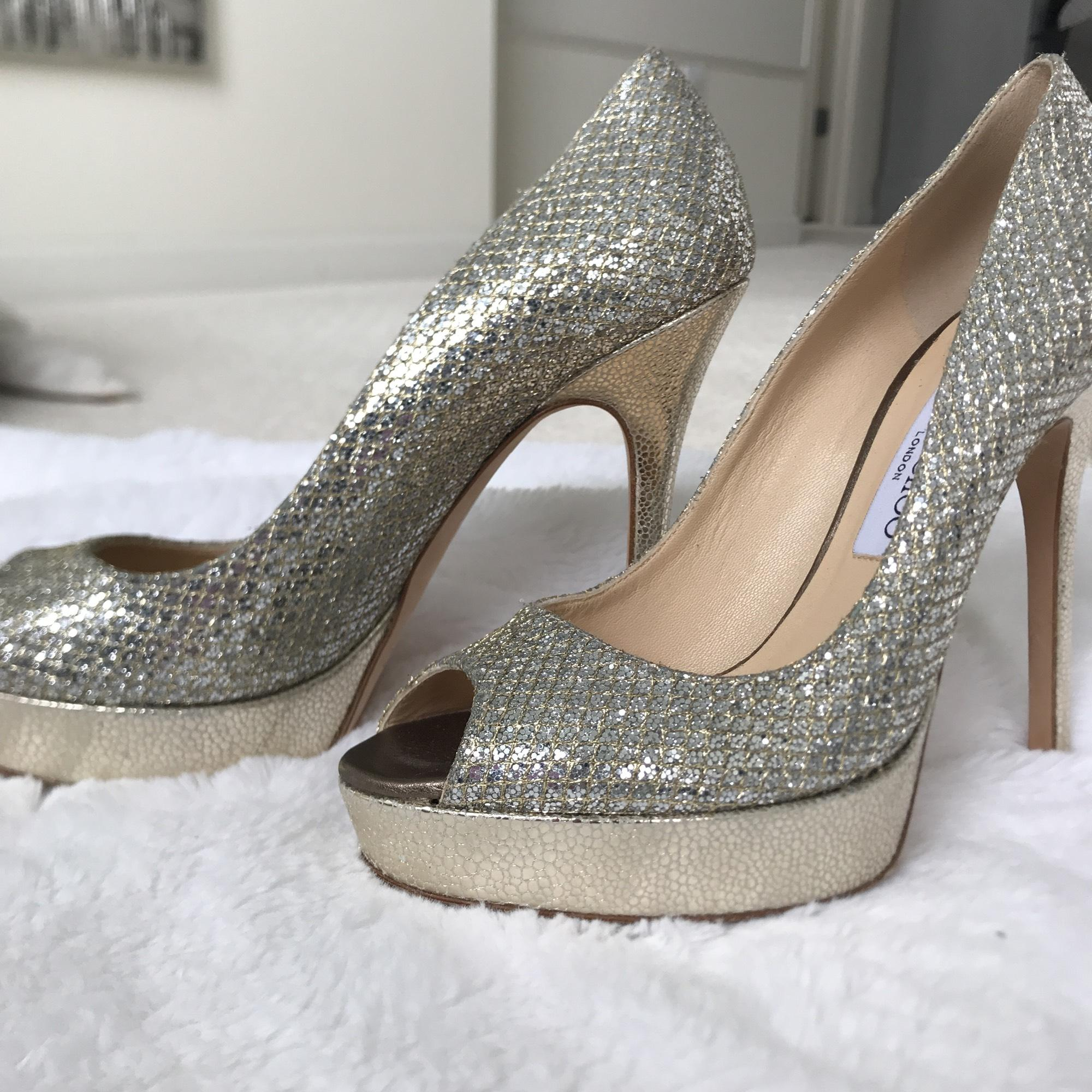 Luna 100 pumps - Metallic Jimmy Choo London soTBe6NzF
