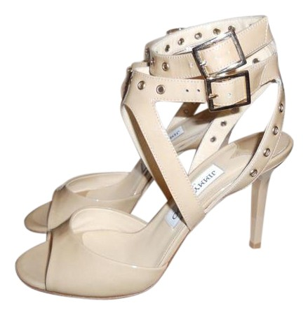 Jimmy Choo Patent Leather Grommet Sandals pre order cheap online sale footlocker pictures discount buy discount 100% guaranteed buy cheap reliable CfsfDK