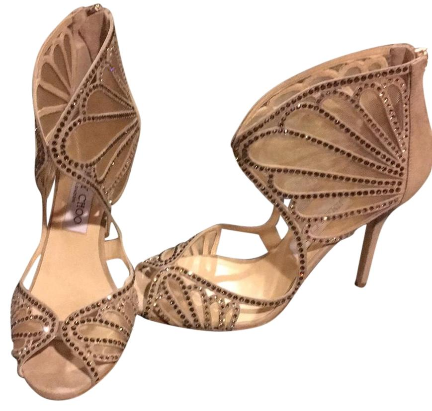 Jimmy Choo Nude Kolesgh Formal Shoes Size US 8 Regular (M, B)