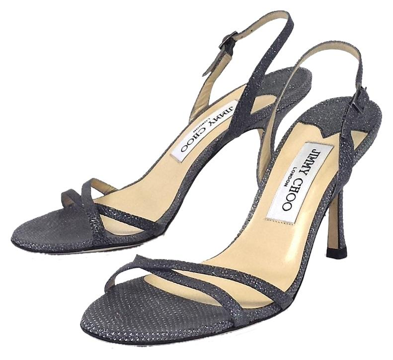 Jimmy Choo Metallic Karung Sandals free shipping buy cheap sale explore clearance countdown package clearance best sale outlet low shipping fee taBvKaFwR