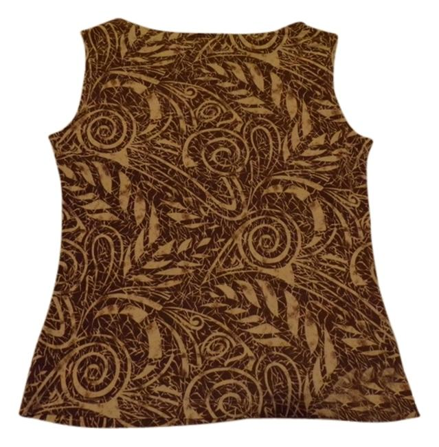 JKLA California Small 4 Versatile Stylish Comfortable Easy Care Sale Half-off Reduced Comfortable Top Lt.Brown / Cream Print