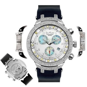 Joe Rodeo Mens Diamond Watch Joe Rodeo Master Jjms1wy 2.20 Ct Chronograph Dial