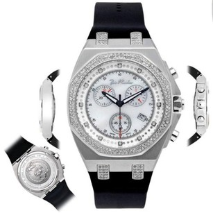 Joe Rodeo Mens Diamond Watch Joe Rodeo Panama Jpam1 2.15 Ct Octagon White Dial