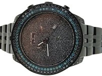 Joe Rodeo Mens Joe Rodeo Jojino Blue 6.5c Diamond Illusion Watch
