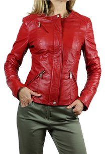 John Richmond Leather RED Blazer