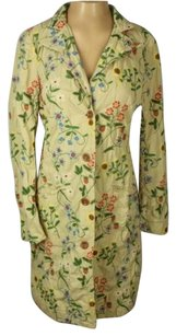 Johnny Was Floral Embroidered Beige Jacket