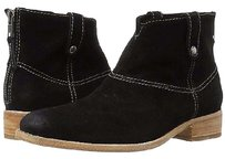 Johnston & Murphy Stephanie Suede 260934e Black Boots