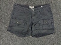 Joie Cargo Button Cargo Shorts Charcoal