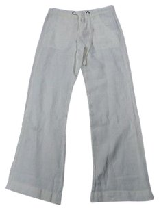 Joie Linen Casual Relaxed Pants Off White