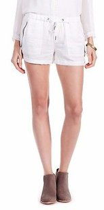 Joie Porcelain Coulette Pull On Cuffed Drawstring 210985f Shorts White