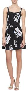 Joie short dress Silk Floral Print Sweetheart on Tradesy