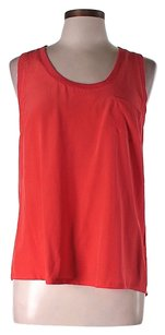 Joie Nwt Silk Top Red
