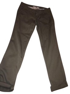 Jolt Olive Straight Pants Army Green