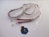 Jonathan Adler Jonathan Adler Leather Key Belt White Purple White Sm
