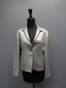 Jones New York Collection Petite Silver Jacket