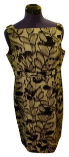Jones New York short dress Multi Square Neck Empire Waist Sleeveless on Tradesy