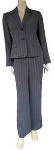 Jones Wear NWT JONES WEAR Black White Herringbone Pants Suit 6P