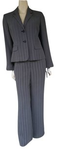 Jones Wear JONES WEAR Black White Herringbone Pants Suit
