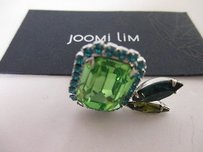 Joomi Lim Joomi Lim Pretty Bijoux Ring Blue Green Square