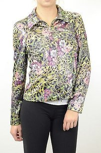 Joseph Ribkoff Leopard Print Multi-Color Jacket