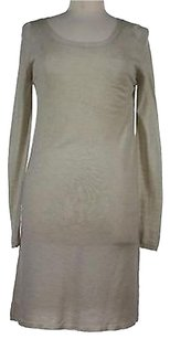 Joseph short dress Taupe Womens Solid on Tradesy