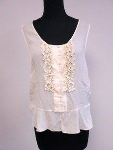 Josephine Chaus Scoop Top Ivory