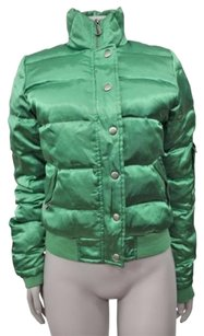 Juicy Couture Viva La Satin Green Jacket