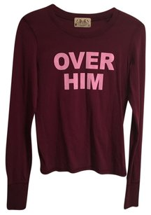 Juicy Couture T Shirt Burgundy