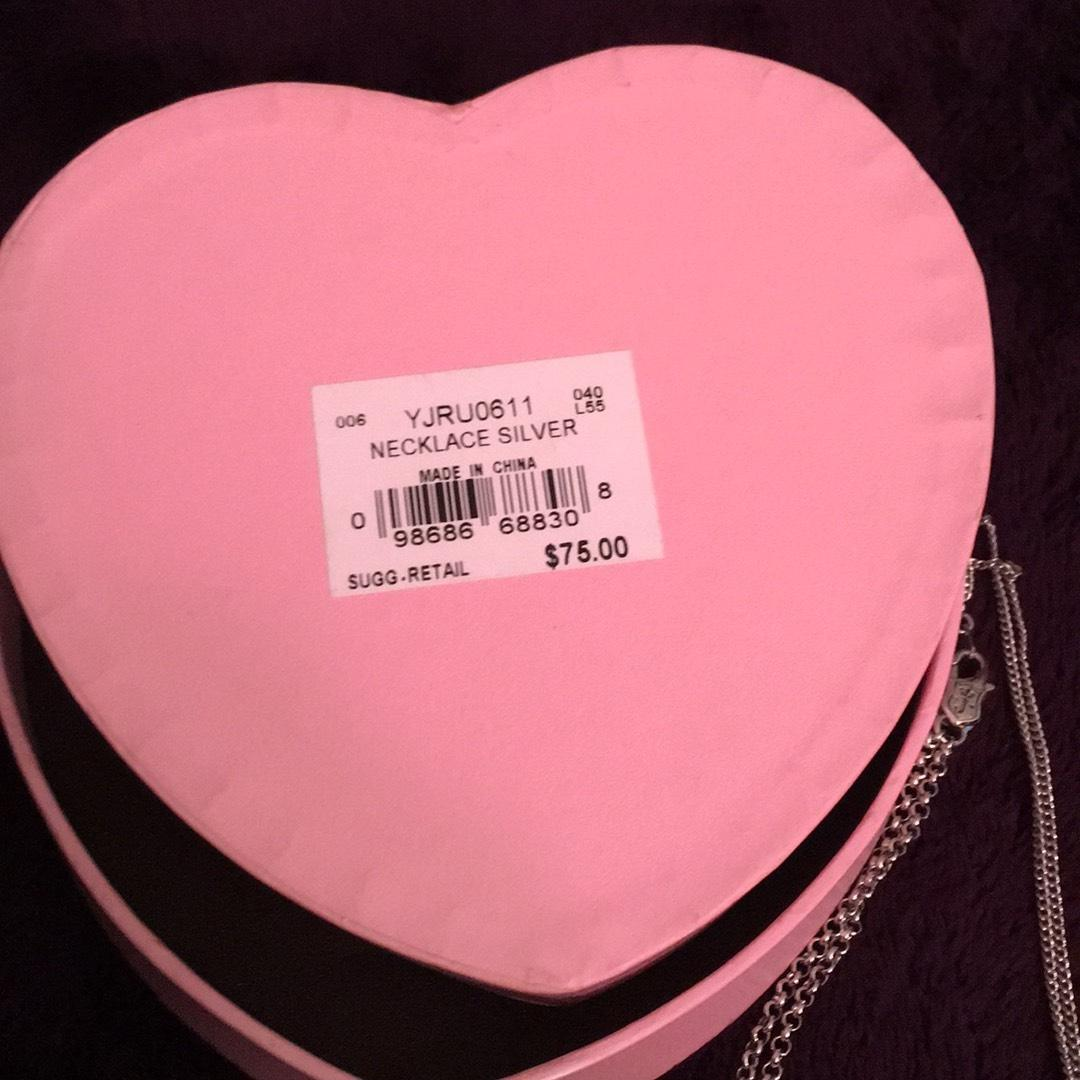 juicy couture juicy couture charm necklace 66 off retail