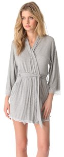 Juicy Couture Juicy couture modal gray lace trim robe Medium
