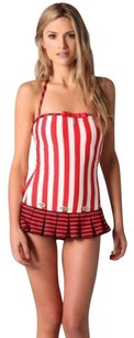 Juicy Couture Juicy Couture Red Sailor Girl Striped Swimdress Y54823