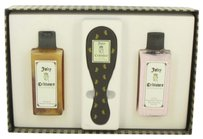 Juicy Couture Juicy Crittoure By Juicy Couture Gift Set -- 8 Oz Shampoo + 8 Oz Conditioner + Dog Brush