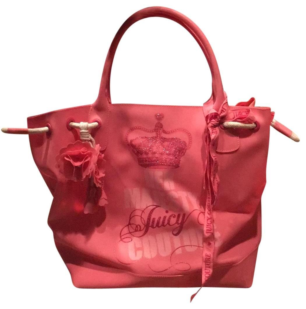 Authentic JUICY COUTURE Soft brown leather Used Good condition: There is some wearing on the bottom of the bag on the inside liner Fun hobo style with gold chain accents Magnetic snap closure. Juicy Couture Handbag Red/black Unique Look! $ Buy It Now. $ 0 bids.