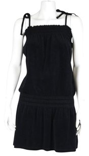 Juicy Couture Womens Sheath Velvet Cotton Above Knee Casual Dress