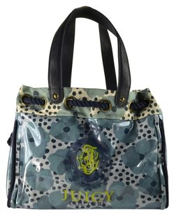 Juicy Couture Xl Coated Canvas Daydreamer Tote in Blue