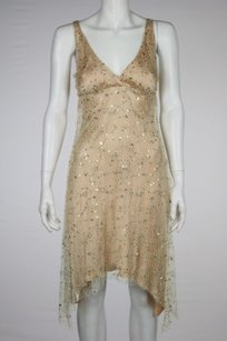 Julie Brown Womens Sheaeth Sequined Evening Casual Dress