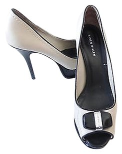 Karen Millen Platform Pumps White/Black Platforms