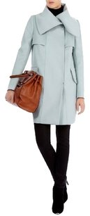 Karen Millen Wool Cashmere Pastel Color Pea Coat