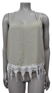 Karen Zambos Vanilla Jocelyn Top white