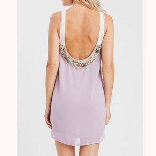 Karen Zambos short dress lilac Talia In on Tradesy
