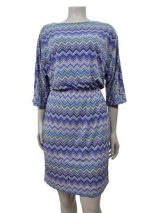 Kate Hill Persian Blue Short Dress
