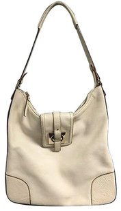 Kate Spade Leather Top Tote in Ivory