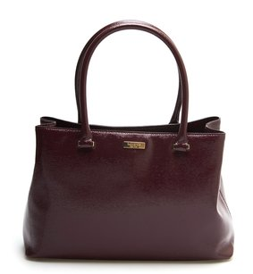 Kate Spade Burgundy Tote in Mulled Wine